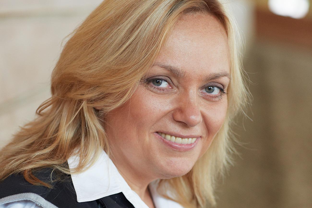 Olga Uskova, fotografija iz osebnega arhiva.