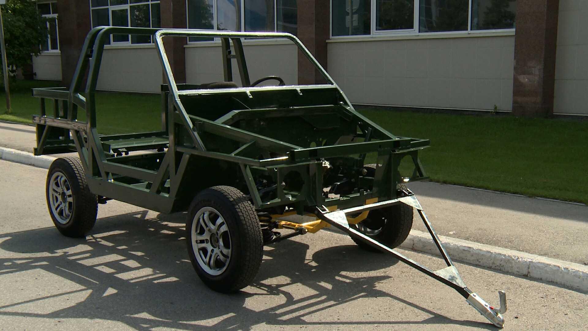 """Возило ће први пут бити приказано јавности на војнотехничком форуму """"Армија-2017"""". Извор: Државни универзитет у Тољатију"""