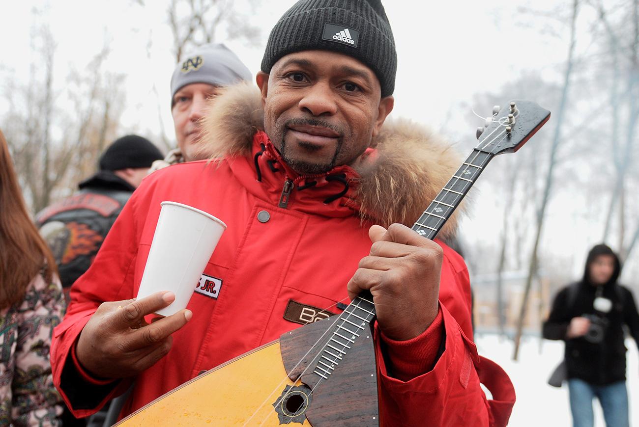 Рој Џонс Јунирор. Извор: Григориј Сисојев/РИА Новости