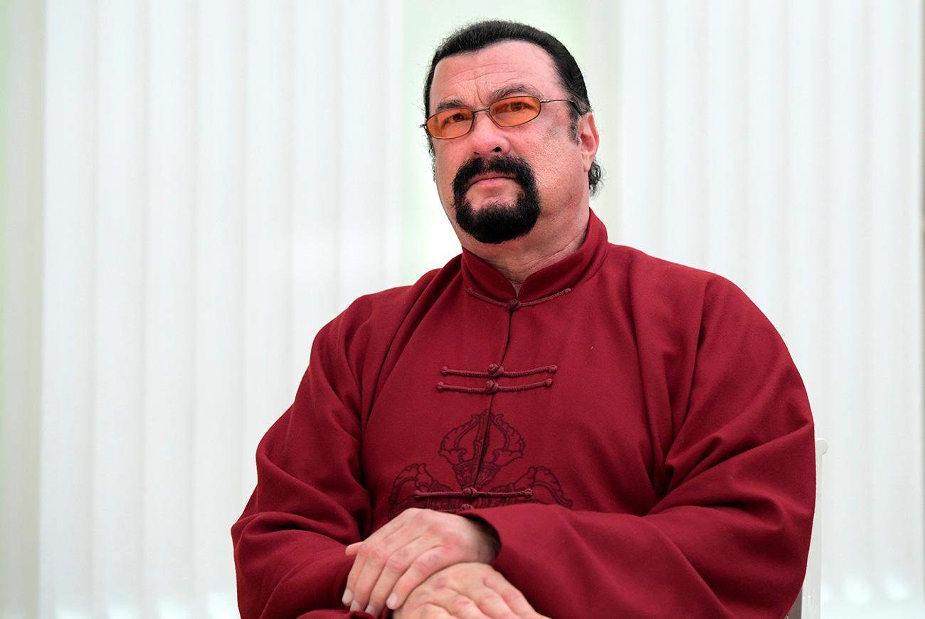 Стивен Сигал. Извор: Алексеј Дружињин/РИА Новости