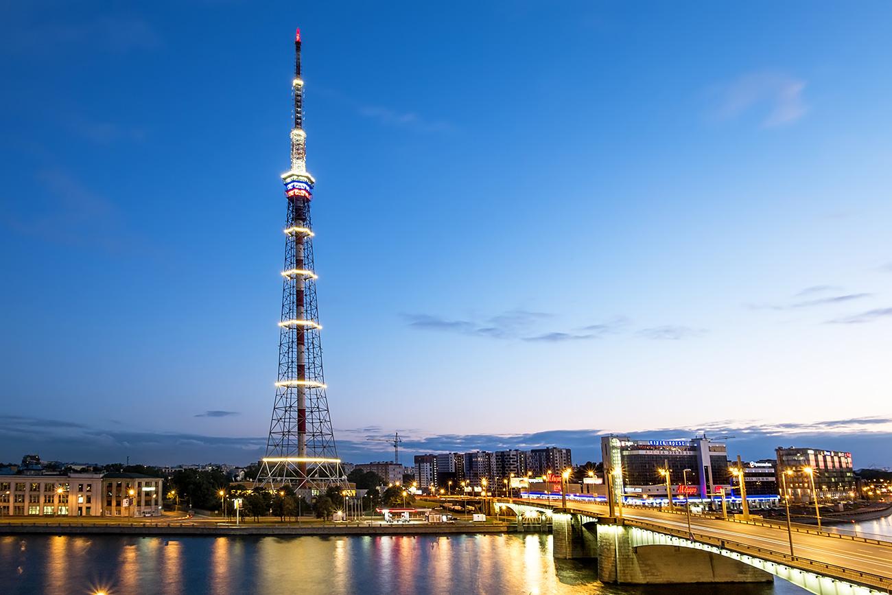 Sanktpeterburški televizijski stolp. Vir: Legion Media