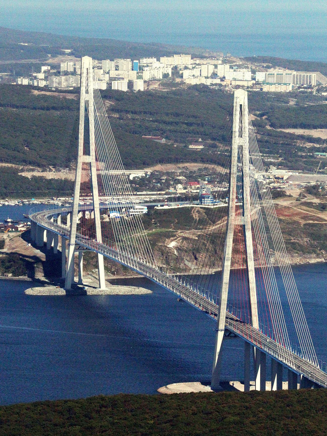 Most Ruski. Vir: Vitalij Anjkov, RIA Novosti