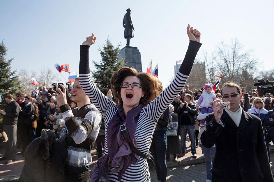 Krimea Gelar Referendum untuk Gabung dengan Rusia