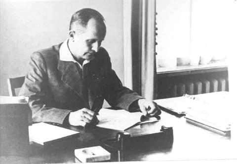 Sovjetski letalski inženir Pavel Suhoj. Vir: Press photo
