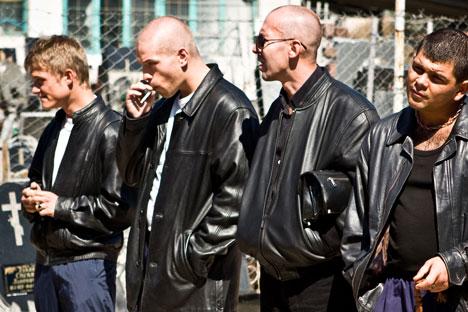 Jaket kulit menjadi simbol era 1990-an. Foto: AFP/East News