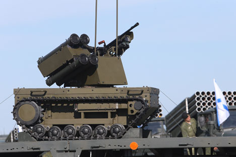 Lima Senjata Baru Tentara Rusia Sepanjang 2014