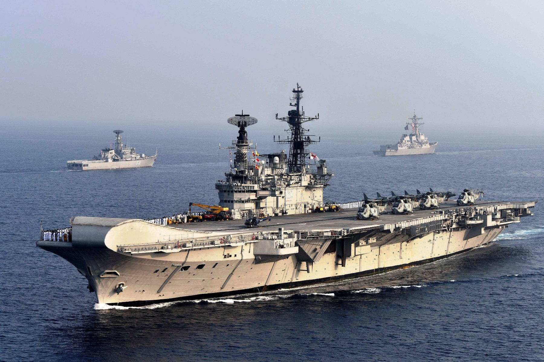 Which countries will have the most powerful navies in 2030
