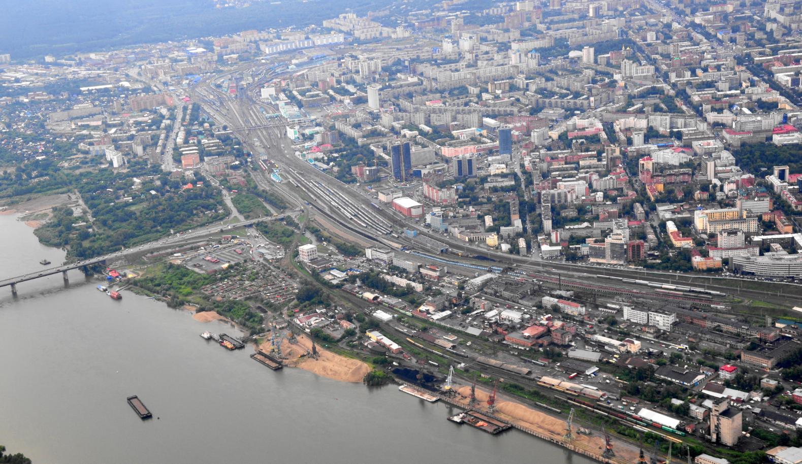 Pogled na Novosibirsk / Panoramio/Wikipedia.org