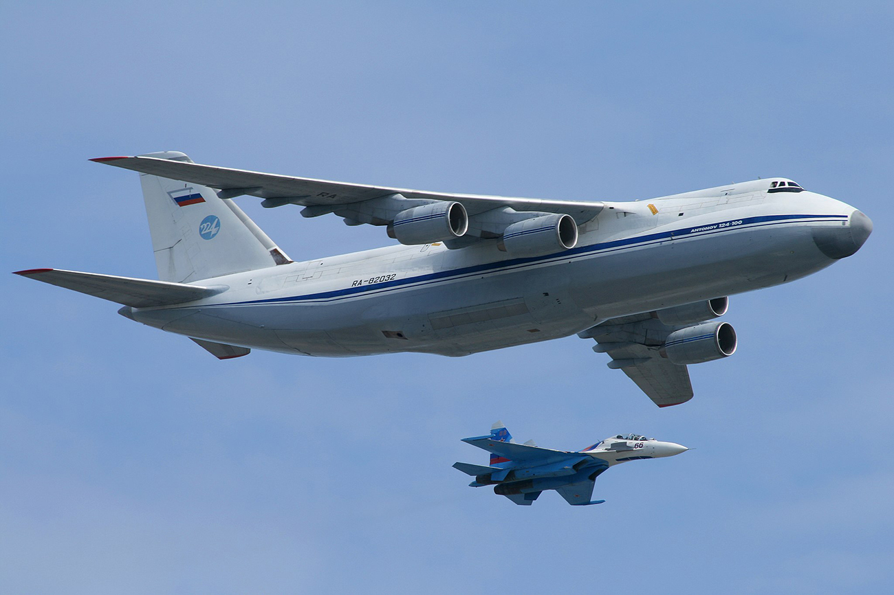 "AN-124 ""Ruslan"". Izvor: Vanisheduser21431/wikipedia.org"