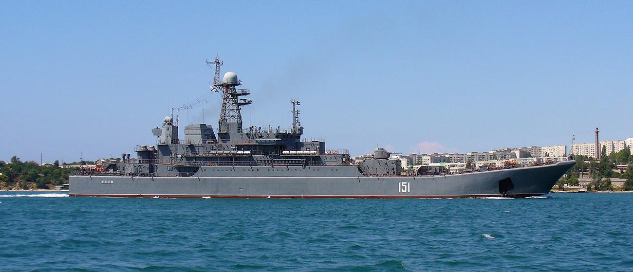 Velika desantna ladja tipa 775. Izvor: Georgij Černilevskij/ Wikipedia.org