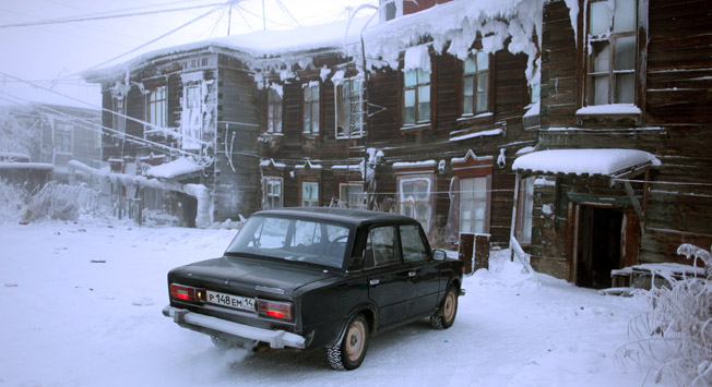 V Ojmjakonu vam bo vžgal samo ruski avto, pa še z njim morate biti previdni. Vir: Getty Images/Fotobank