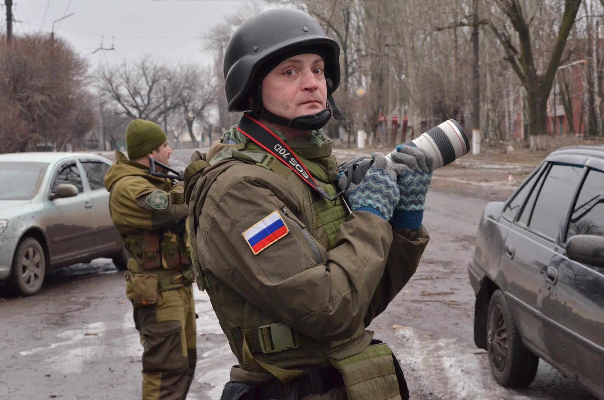 """Интервю с Александър Коц, военен кореспондент на """"Комсомолская правда""""."""