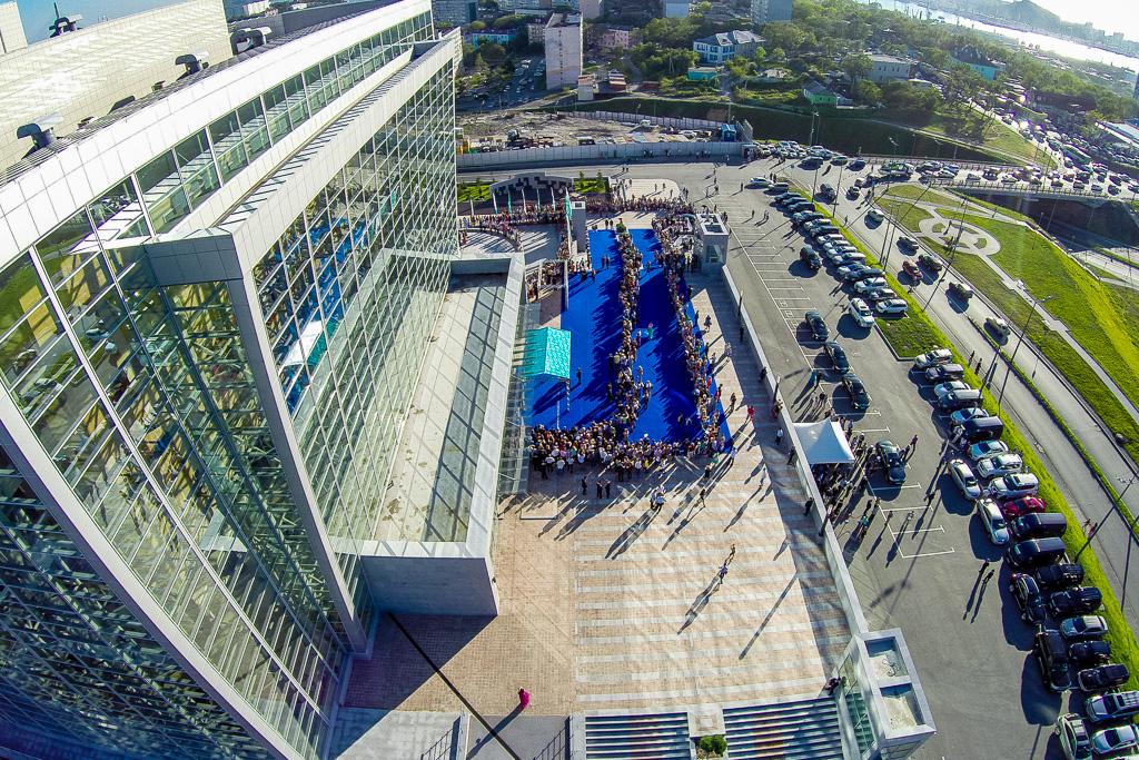 環太平洋国際映画祭「太平洋子午線」開幕。2014年9月13日。