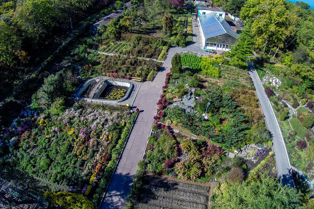 植物園。2014年10月6日。