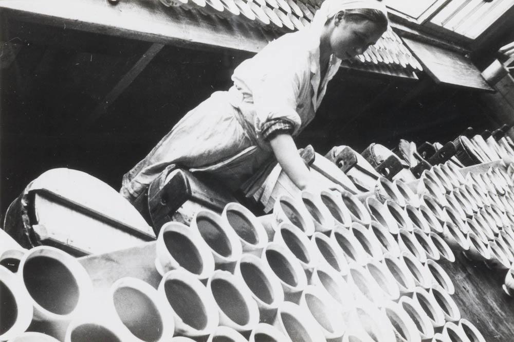 Menza v elektrarni, 1929