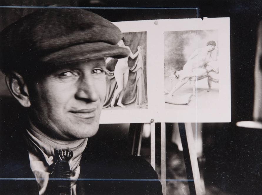 Kipar Anton Lavinski, 1924