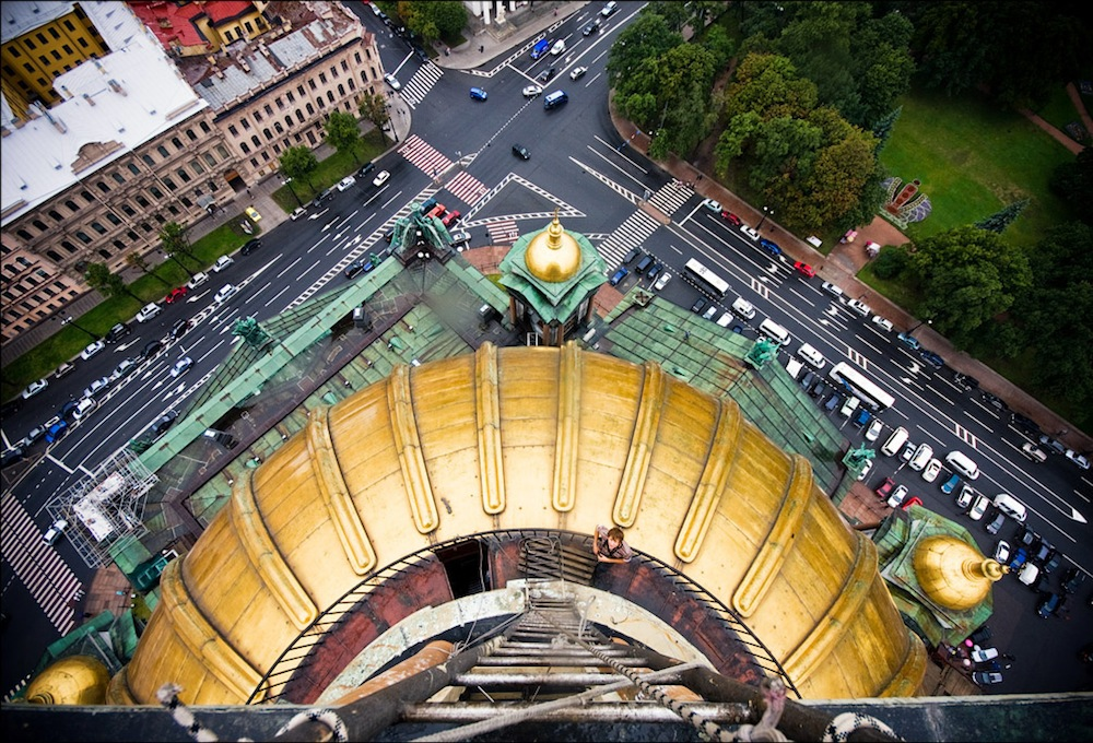 View from the dome of St Isaac's