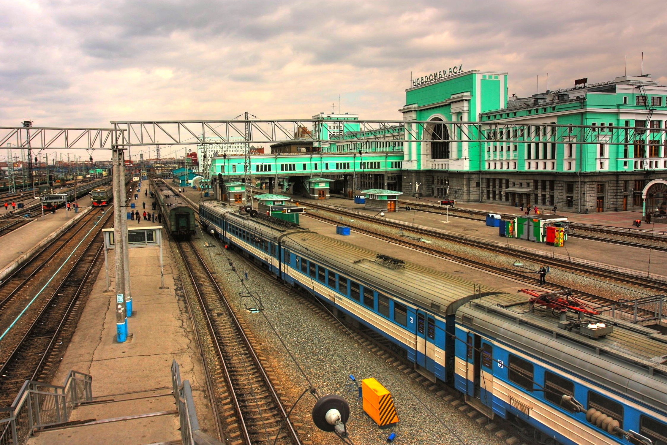 Novosibirsk is the third-largest city in Russia, after Moscow and Saint Petersburg, and the largest city of Siberia.