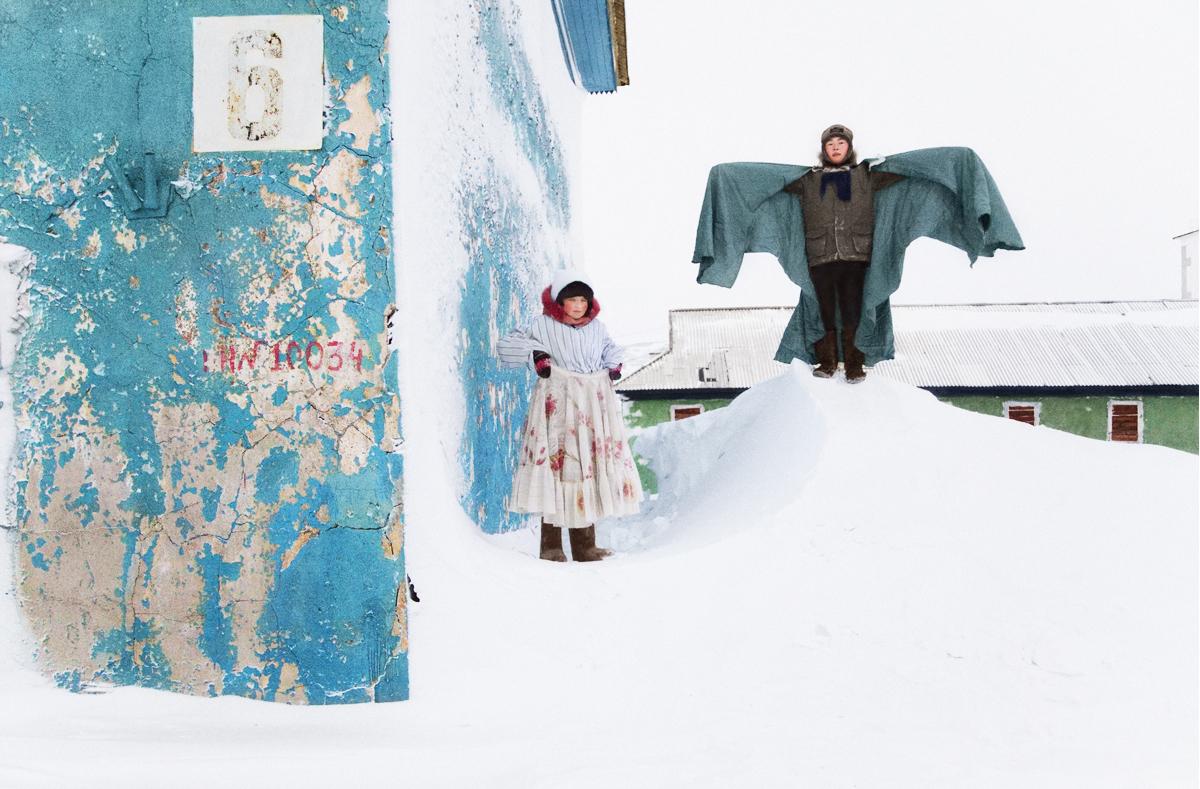 """With my new friend Tanya as a subject, I want to capture Tiksi, both the way it really is, as well as the way it exists in a child's imagination."" - Evgenia Arbugaeva"