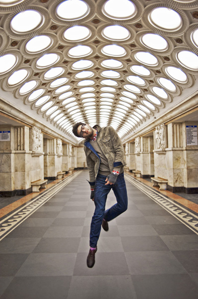 Руският моден фотограф Альона Никифорова (от Москва) създаде този стилен проект за ЮНЕСКО Франция.