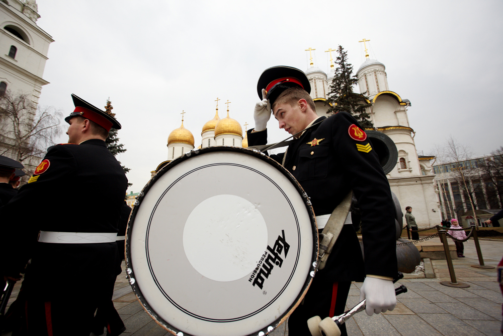The Orchestra of the Moscow Suvorov Military School