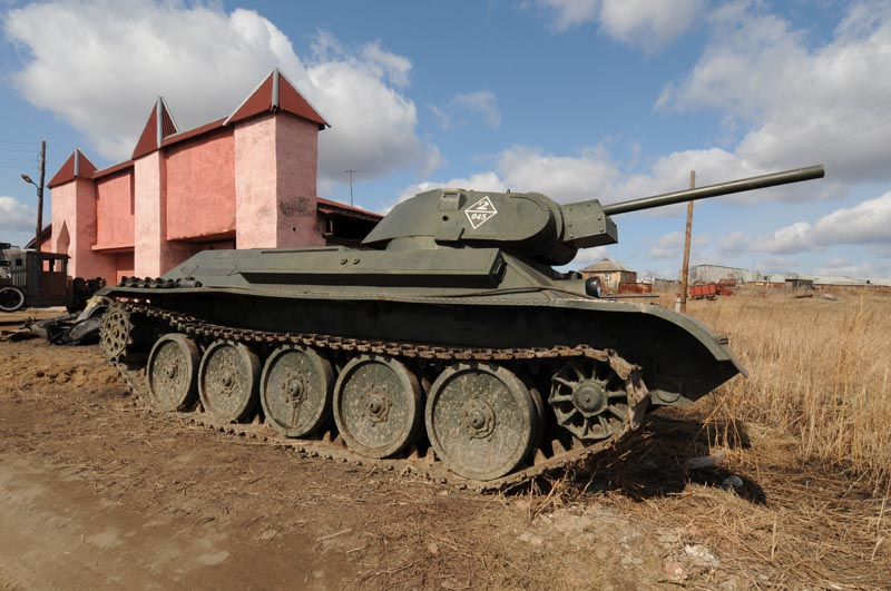 Their tanks have appeared in more than ten Russian films