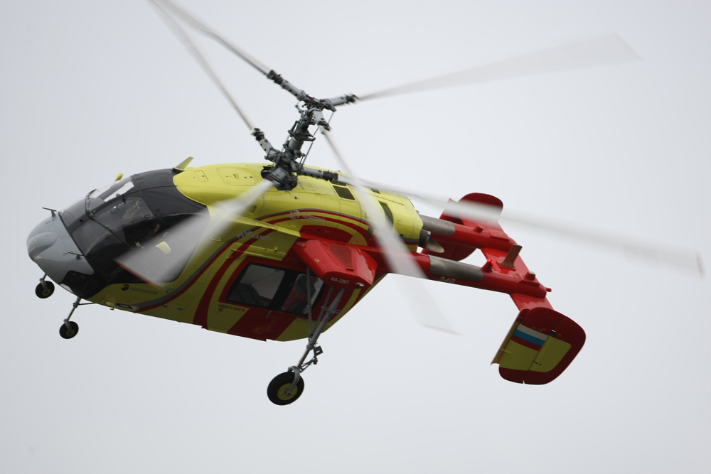 Ka-226T helicopter.