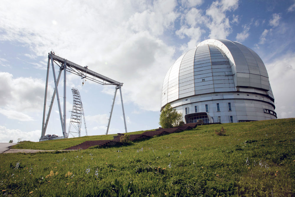 The space observatory of Karachayevo-Cherkessia is one of the largest in the world
