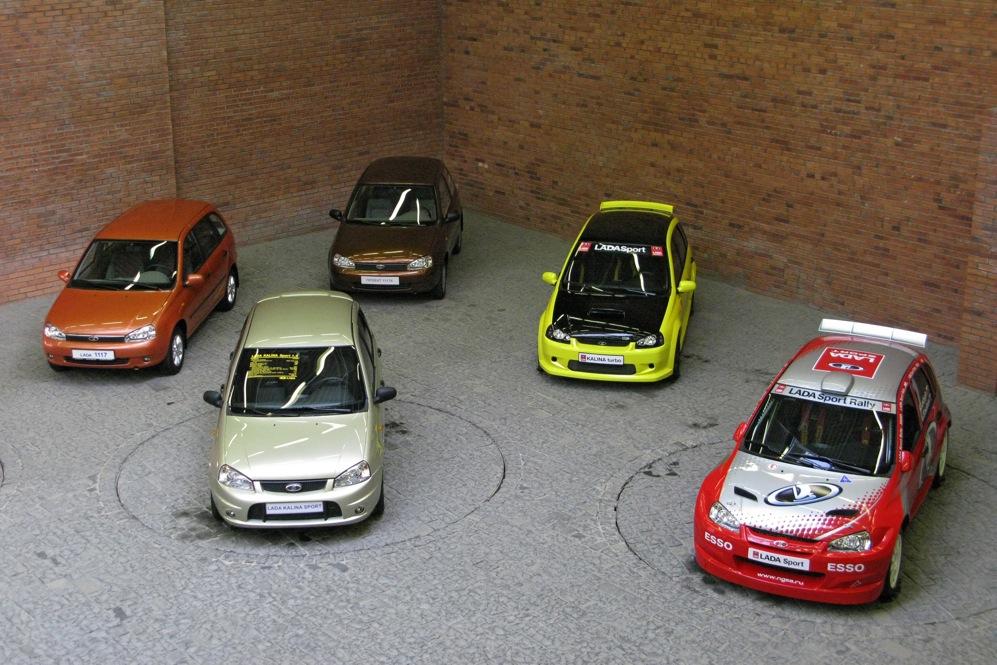 "Модели на ""АвтоВАЗ""."