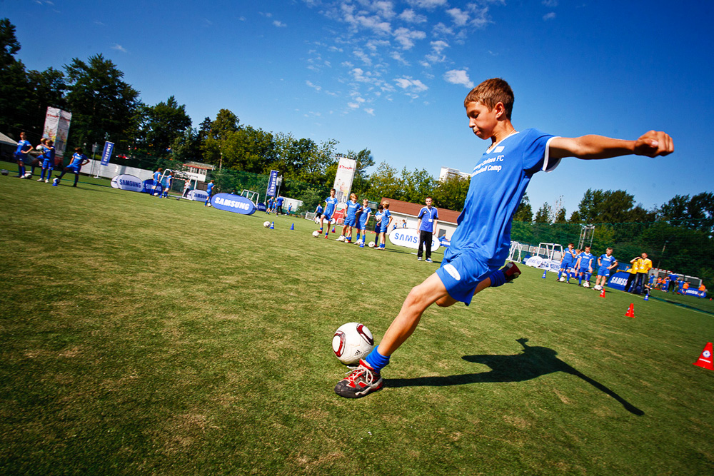 Trainings were organized in four sessions at Moscow Meteor Stadium early in July.