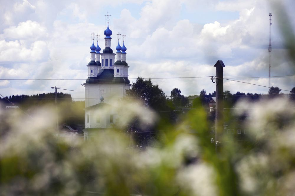 Vologda is one of Russia's few cities with a harmonious blend of ancient and modern strata.