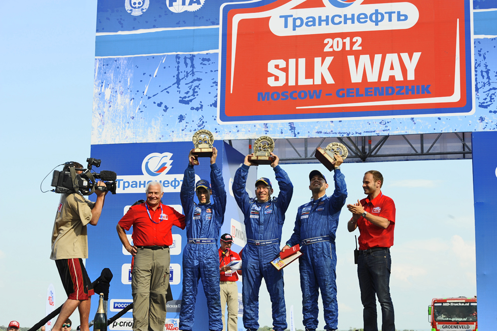 The triumph of the race went to the Kamaz crew Mardeev/Belyaev/Mirnyy.