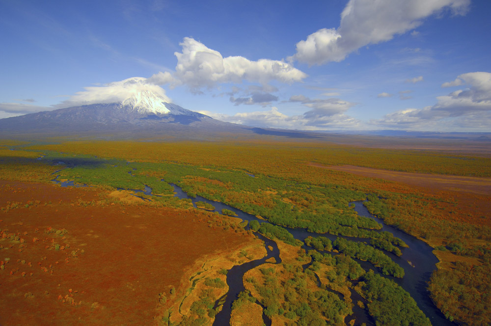 Kronotsky Nature Reserve, located on the remote Kamchatka Peninsula in Russia's Far East, is the target of various kinds of scientific research.