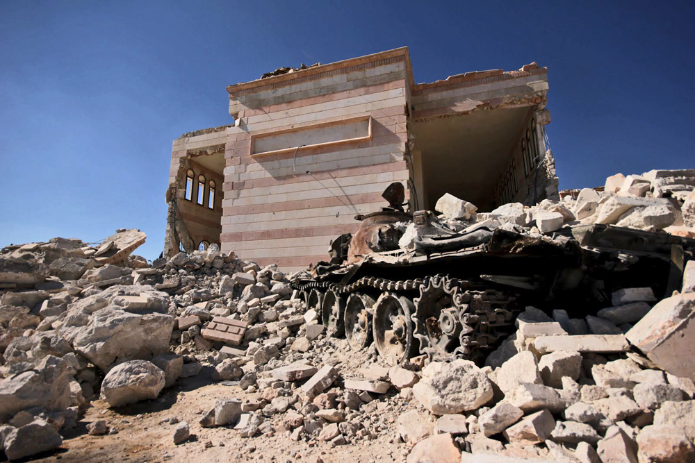 Pada Minggu (11/12) Tentara Suriah secara resmi mengumumkan kemenangan mereka di Aleppo.