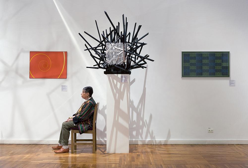 """""""Segno su un cespuglio"""", Francisco Infante, Galleria Statale Tretjakov"""