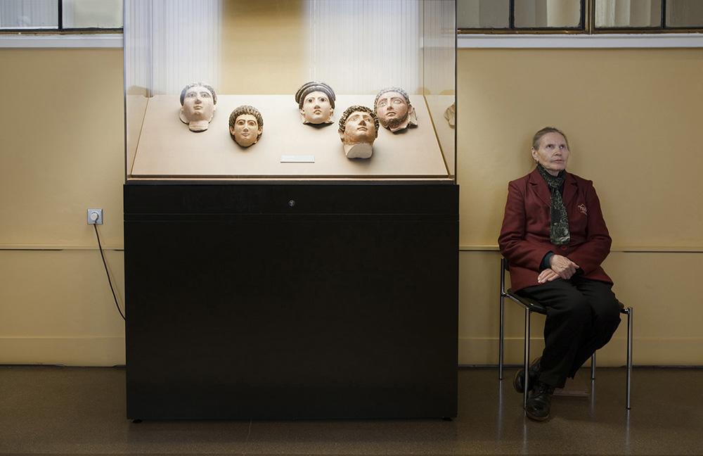 Maschere di mummie, secondo secolo d. C., Museo Pushkin di Belle Arti
