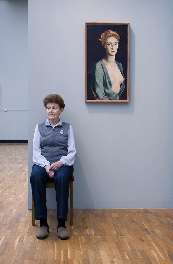 """""""Ritratto di I. P. Degas"""", Nathan Altman, Galleria Statale Tretjakov"""