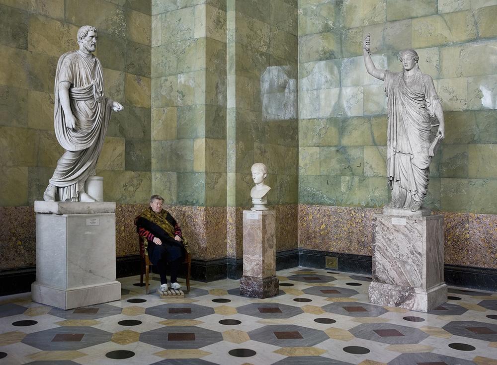 """""""Il giovane e la Cariatide"""", Antoninus Pius, Museo dell'Hermitage"""