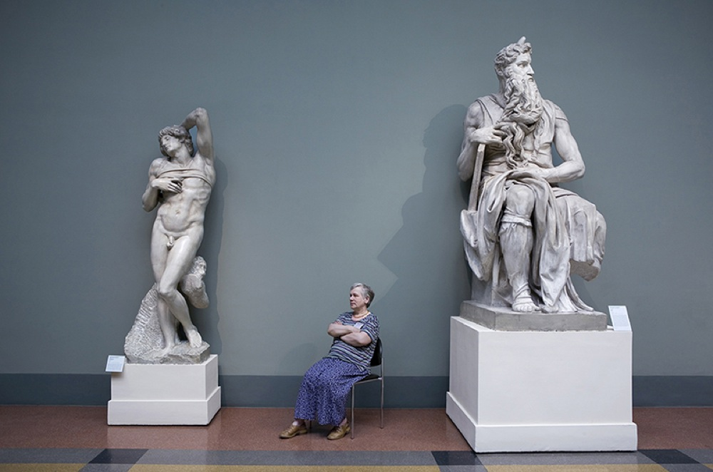 """""""Mosè e lo Schiavo Morente"""", Michelangelo, Museo Pushkin di Belle Arti"""