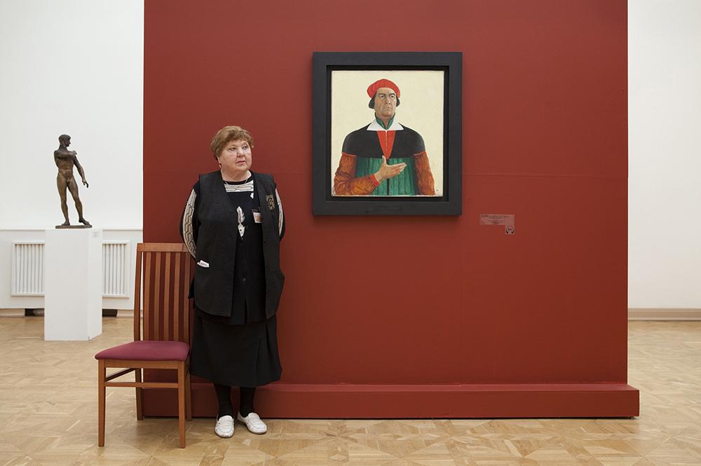 """""""Autoritratto"""", Kazimir Malevich, Museo di Stato Russo"""