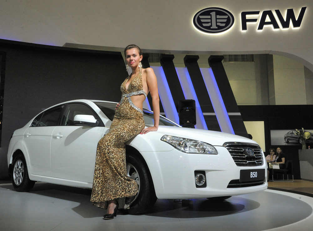 Moscow International Automobile Salon 2012.