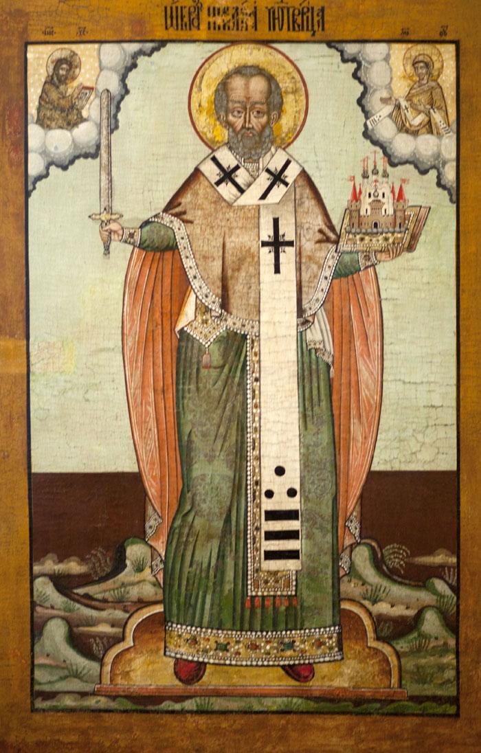 Sv. Nikolaj je najbolj čaščeni svetnik v Rusiji.