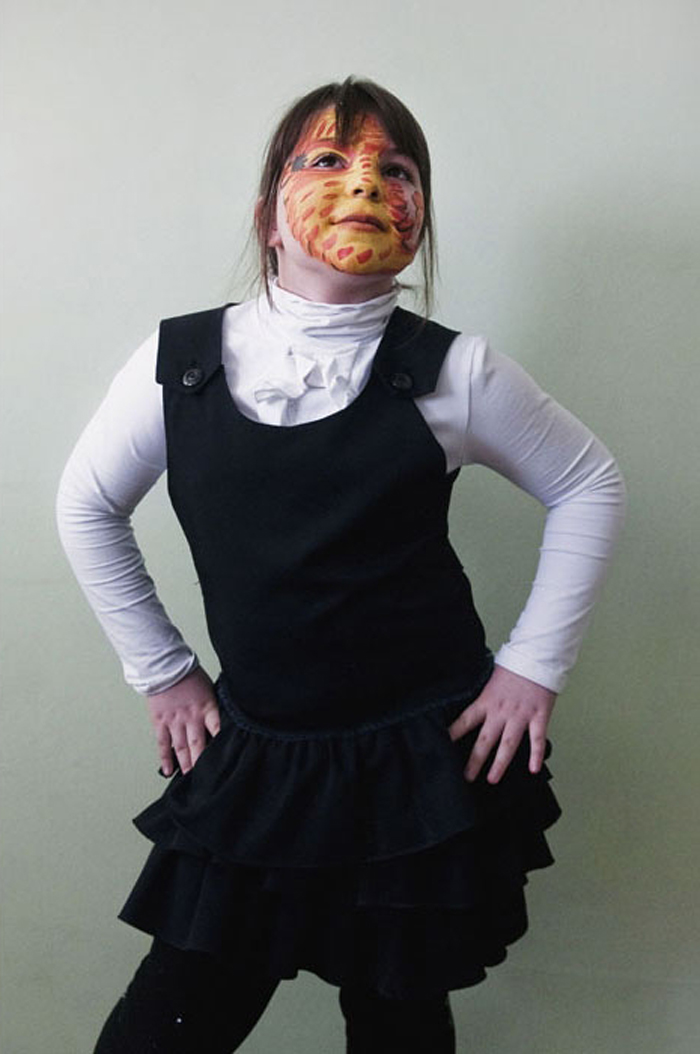 "Amina Nugzarova, 10:  ""I'm a really pretty tigress!"""