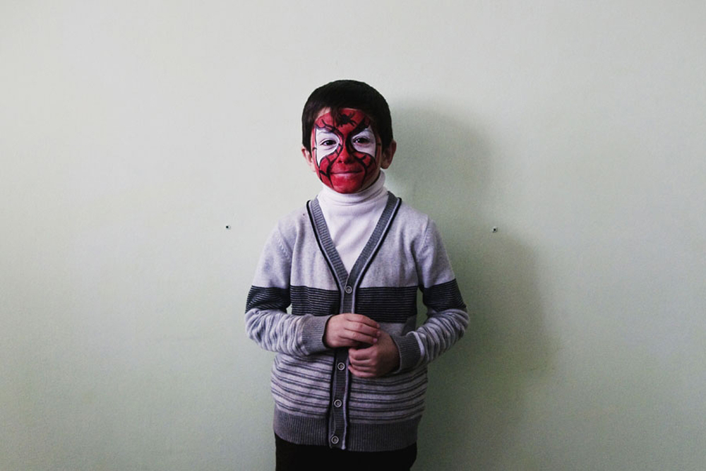 "Geor Tekhov, 8:  ""My name is Spider-Man, I want to be Spider-Man, to save the city, to protect my friends, moms, dads, grandparents... I love being Spider-Man. I've finished."