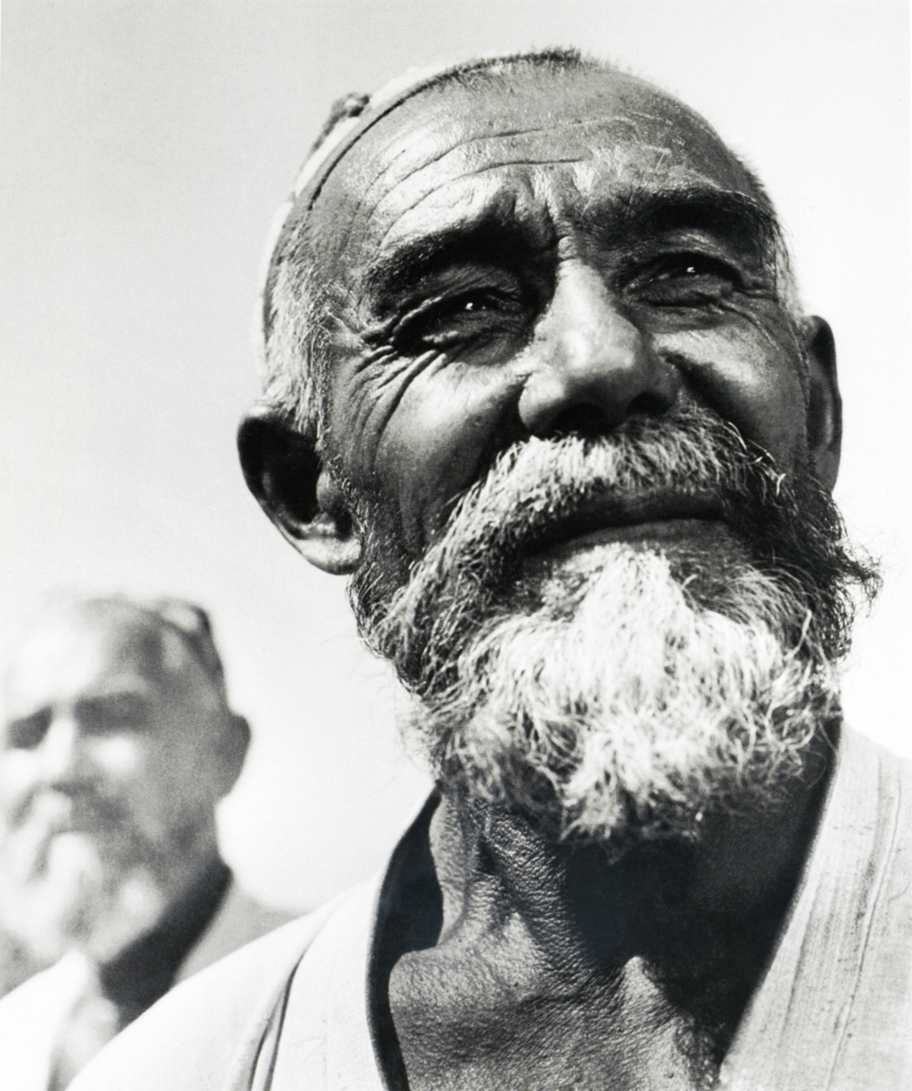 Uzbek farmer. 1960.Despite the fact that by Soviet standards Baltermants' career was a huge success – he went on shooting, publishing and exhibiting widel, and was allowed to work abroad - he was never quite a Soviet photographer.