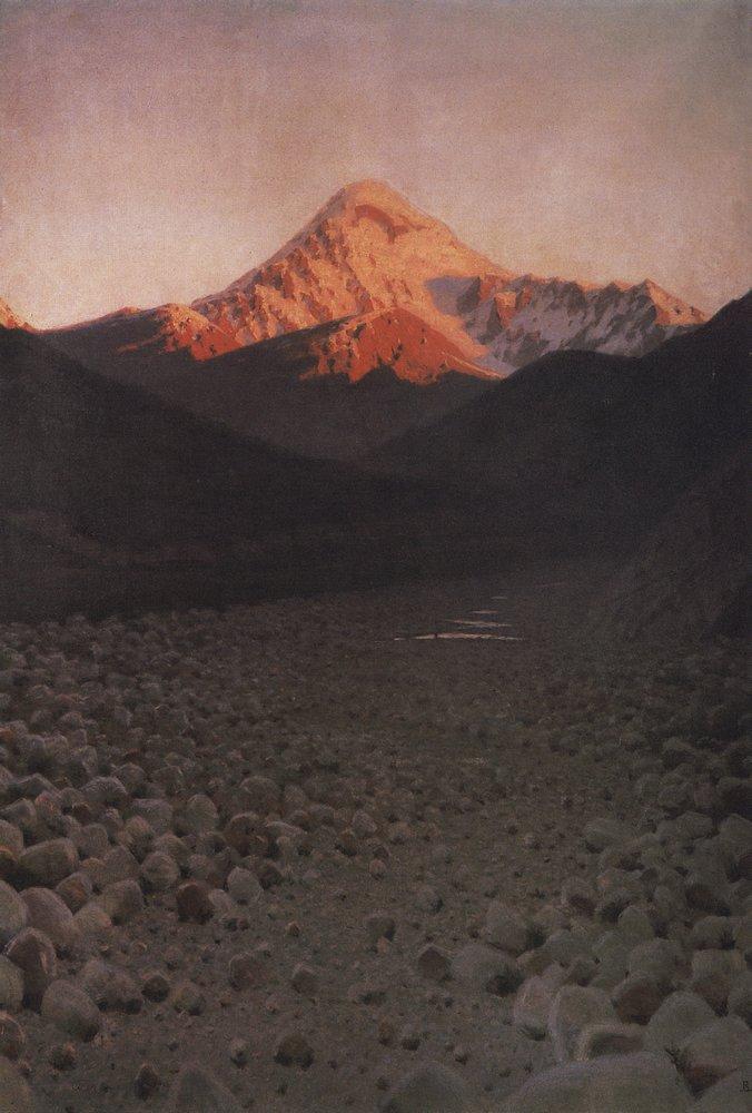 (Monte) Kazbek, 1897.
