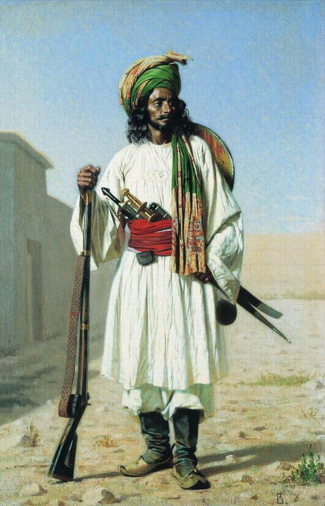 O afegão, 1867-1868.
