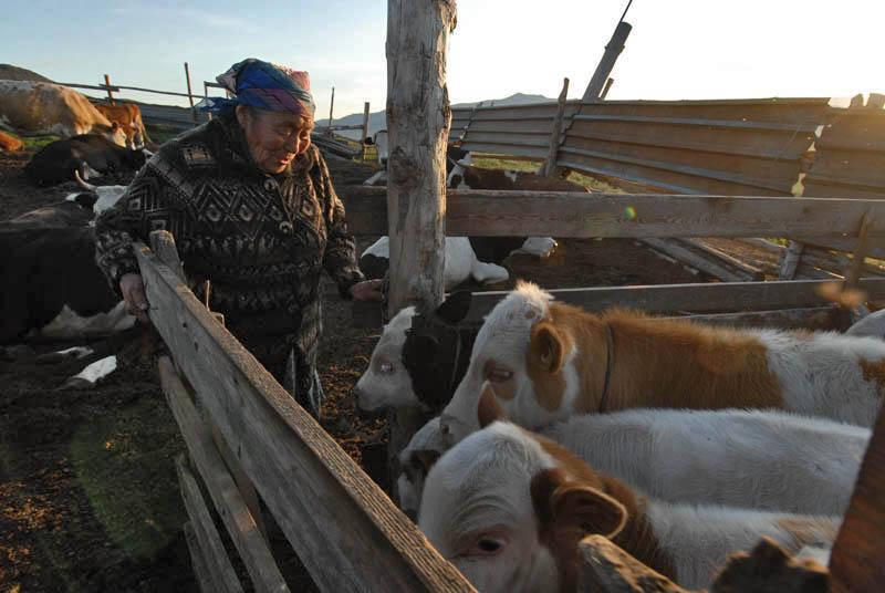 La laine, la viande, et la fourrure d'animaux sont les principaux produits locaux.