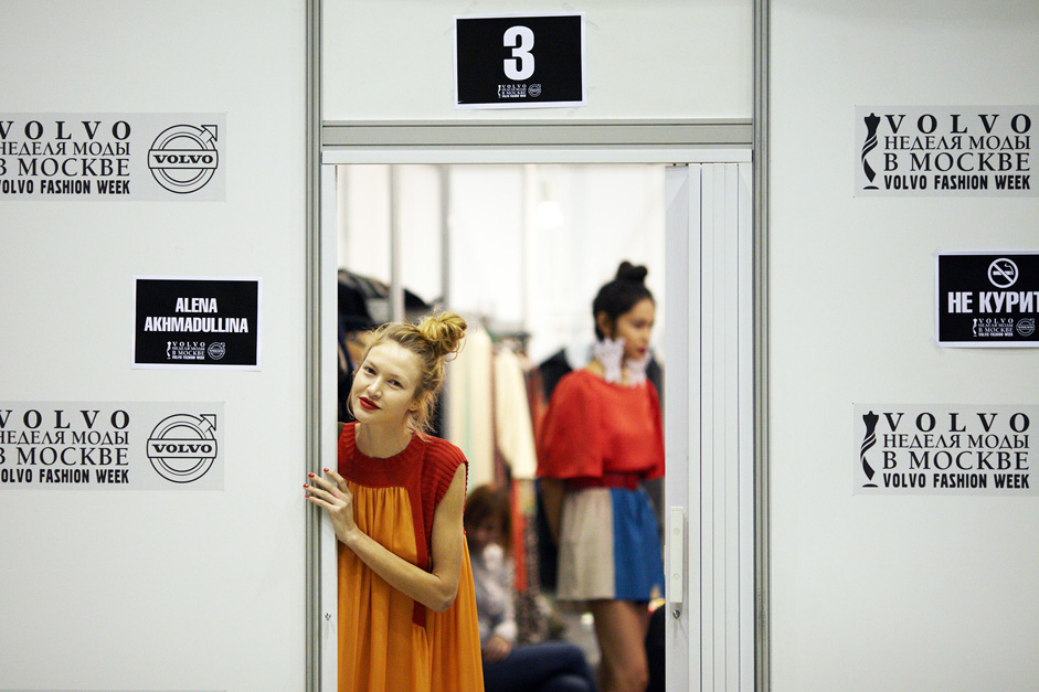 In the list of the designers that participated in the Volvo Fashion Week there are also Olga Malyarova, Tarakanova, Kira Plastinina, Anastasia Zadorina, Olesya Malinskaya, Razumikhina, Alexandra Kazakova and others.