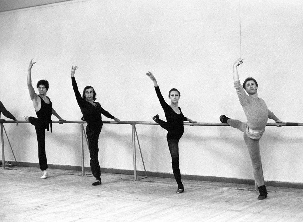 Bailarines del Bolshói, 1985